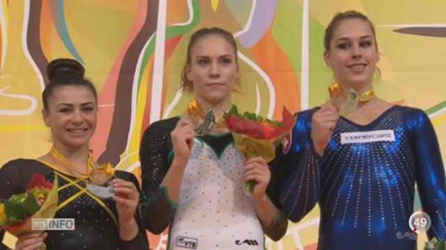 Championnats d'Europe de gymnastique: les gymnastes suisses étaient en forme [RTS]