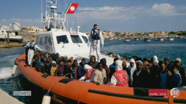 Près de 700 migrants ont péri en méditerranée [RTS]