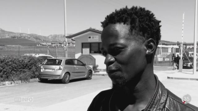 Chaque jour, environ 1500 migrants arrivent en Sicile [RTS]