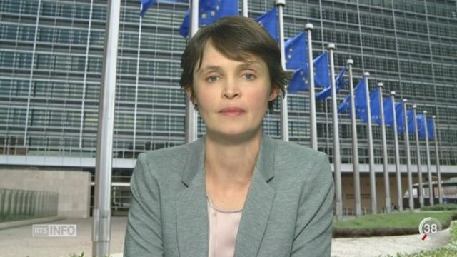 Migration de masse: les explications d'Isabelle Ory, depuis Bruxelles [RTS]