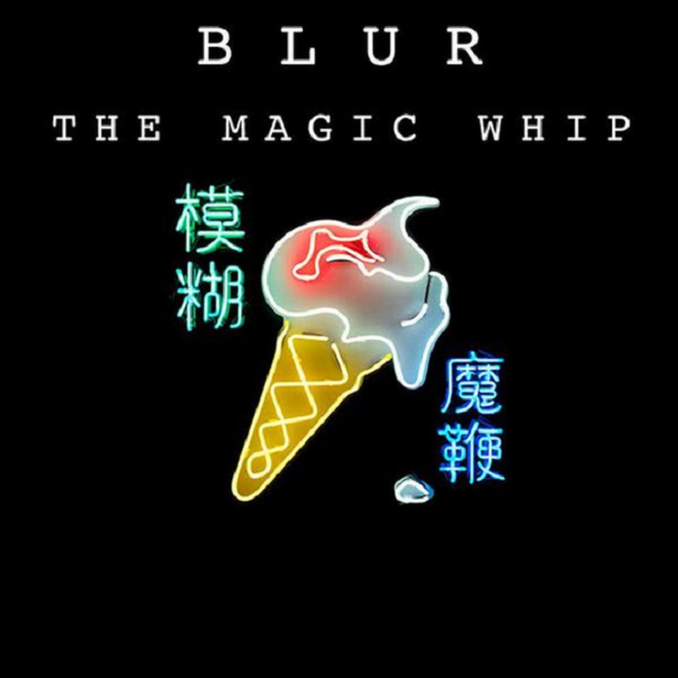 """La cover de """"The Magic Whip"""" de Blur. [Blur]"""