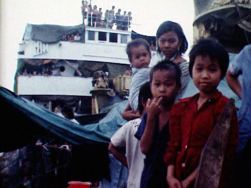Une odyssée sans fin pour les boat people vietnamiens. [RTS]