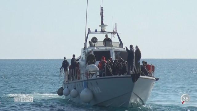 Un grand nombre des clandestins qui passent en Méditerranée transite par la Libye [RTS]