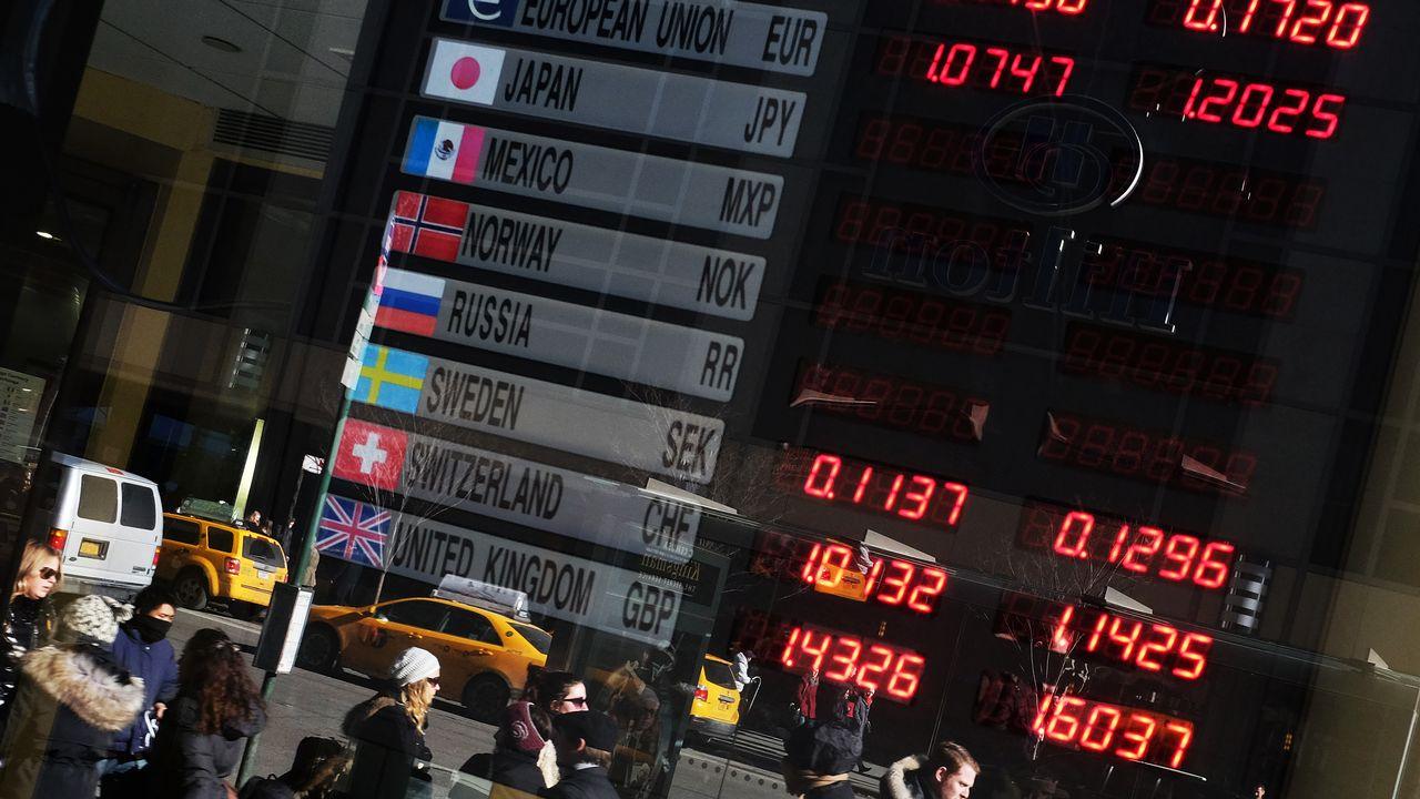 L'entente sur les devises a permis aux banques de gonfler leurs bénéfices. [JEWEL SAMAD - AFP]