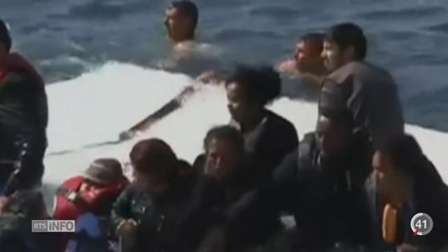 Le déroulement du naufrage au large des côtes libyennes se précise [RTS]