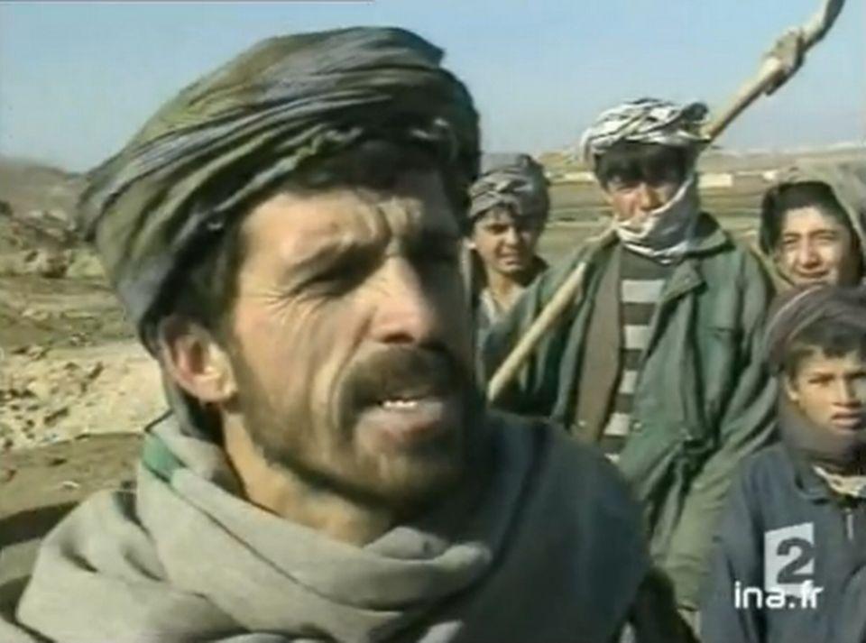 Trésor afghan - 17 janvier 2002. [INA]