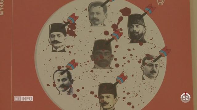 Arménie: le peuple commémore le génocide commis par l'armée ottomane [RTS]