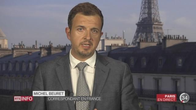 France - Attentat déjoué: les précisions de Michel Beuret depuis Paris [RTS]