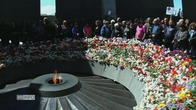 Commémorations du génocide arménien [RTS]