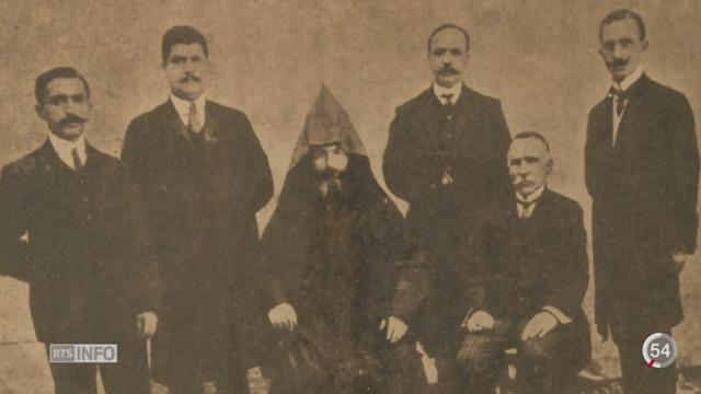 Les 100 ans du génocide arménien sont commémorés le 24 avril 2015 [RTS]