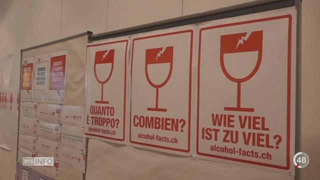 Santé: une campagne contre la surconsommation d'alcool est lancée [RTS]