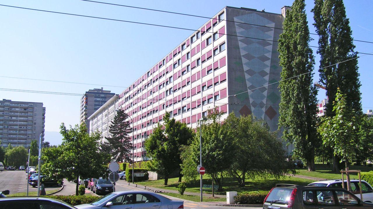 Onex, Cité-Nouvelle. [Olivier Angehrn - RTS]