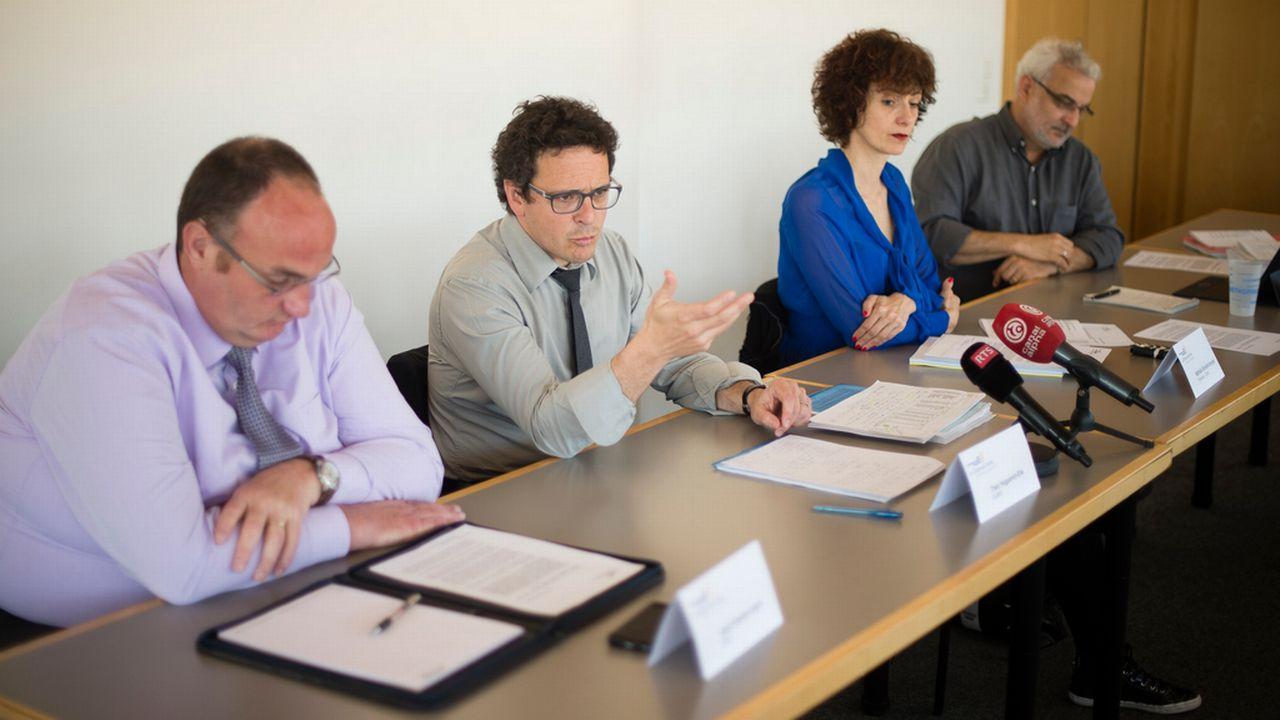 Le Conseil communal de La Chaux-de-Fonds présente un budget 2015 révisé. [Stefan Meyer - key]