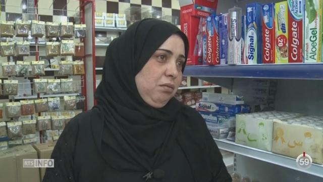 Jordanie: la plupart des réfugiés syriens sont logés dans des appartements en ville [RTS]