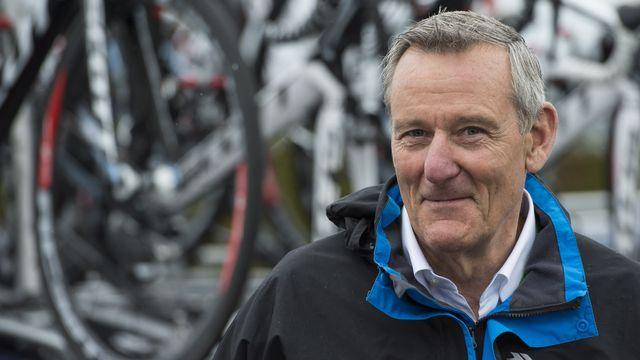 Michel Thétaz milite pour un cyclisme propre. [Jean-Christophe Bott - Keystone]