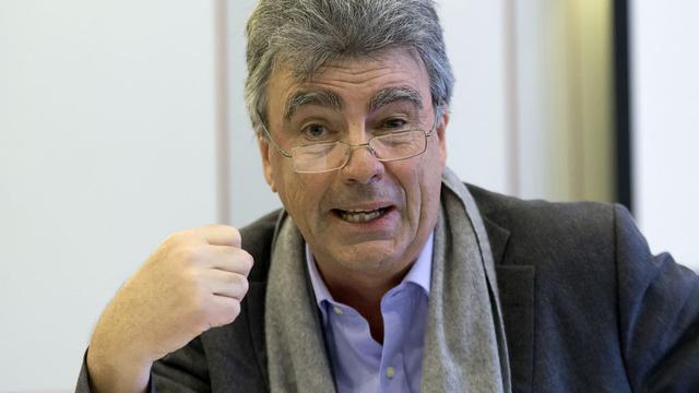 Le président de l'EPFL Patrick Aebischer reprend la tête du Novartis Venture Funds. [Lukas Lehmann - Keystone]