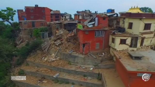 Népal: ce séisme est le plus dévastateur depuis celui de 1934 [RTS]
