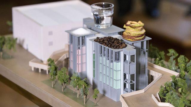 Le Pavillon suisse fait-il trop de pub au numéro 1 mondial du café? [Peter Klaunzer - Keystone]