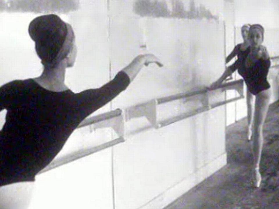 Visite à l'école de danse Simone Sutter à Lausanne.