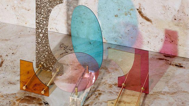"L.O.D. – Light Dependant Object. ECAL/Kaja Solgaard Dahl pour l'exposition ""Arts & Crafts & Design: Time according to ECAL and Swiss Craftsmen"". [Jonas Marguet - ecal.ch]"