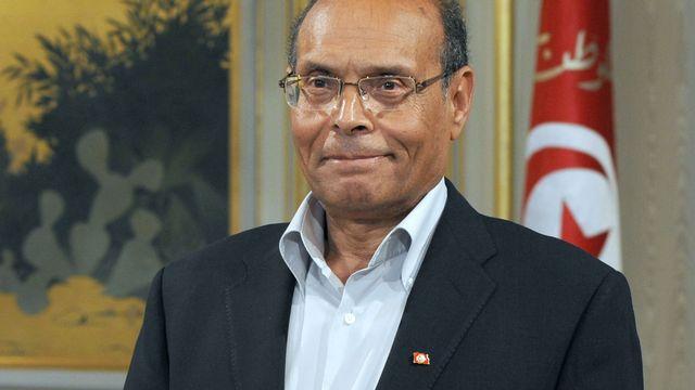 Le président tunisien Moncef Marzouki. [Fethi Belaid - AFP]
