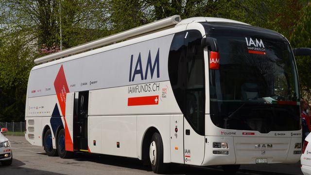 L'équipe IAM cycling a exceptionnellement ouvert ses portes. [Floriane Galaud]