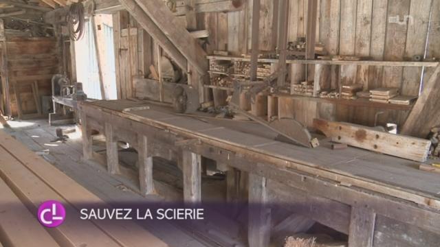 La scierie d'Ormont est la dernière scierie hydraulique de Suisse romande [RTS]