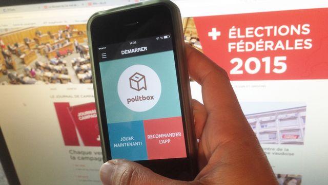 Politbox, un jeu de connaissances sur la Suisse et ses habitants.