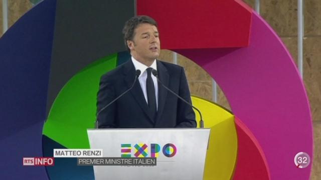 L'Exposition universelle de Milan s'ouvre sur fond de contestation sociale [RTS]