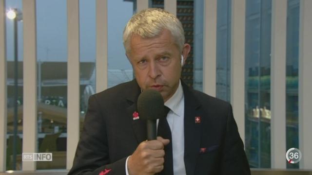 Expo Milan 2015: entretien avec Nicolas Bideau, directeur de Présence Suisse [RTS]