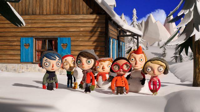 """Une image du film d'animation """"Ma vie de courgette"""" [Charlotte Désigaud/Rita Productions]"""