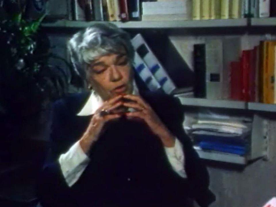 Confidences de Simone Signoret, actrice et écrivain.