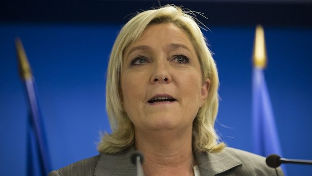 Marine Le Pen. [Ian Langsdon - EPA/Keystone]