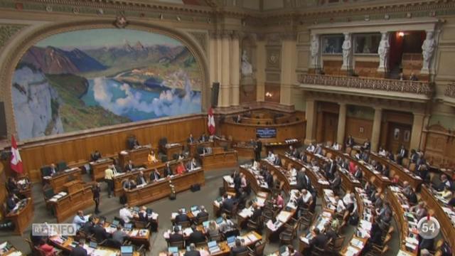 Le Conseil national a refusé l'inscription obligatoire des armes détenues par les particuliers [RTS]