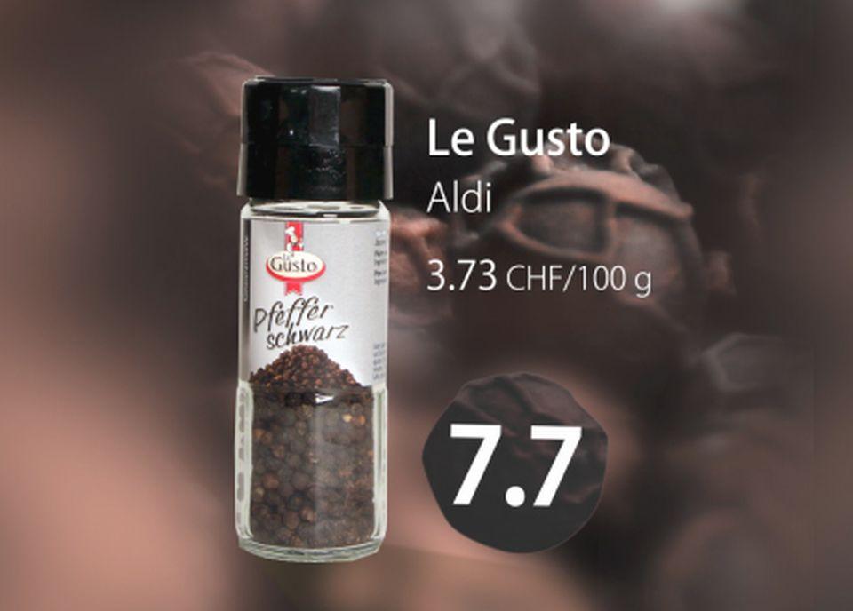 Poivre noir Le Gusto [RTS]