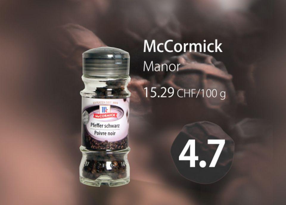 Poivre noir Mc Cormick [RTS]
