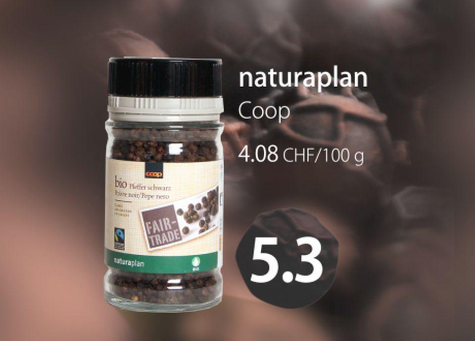 Poivre Naturaplan de Coop [RTS]