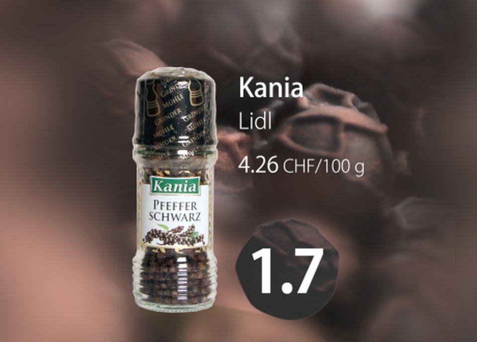 Poivre noir Kania [RTS]