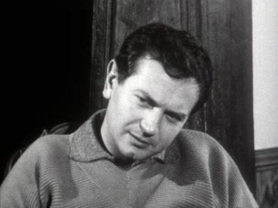 Robert Enrico dans l'émission Le Cinéma et ses hommes. [RTS]