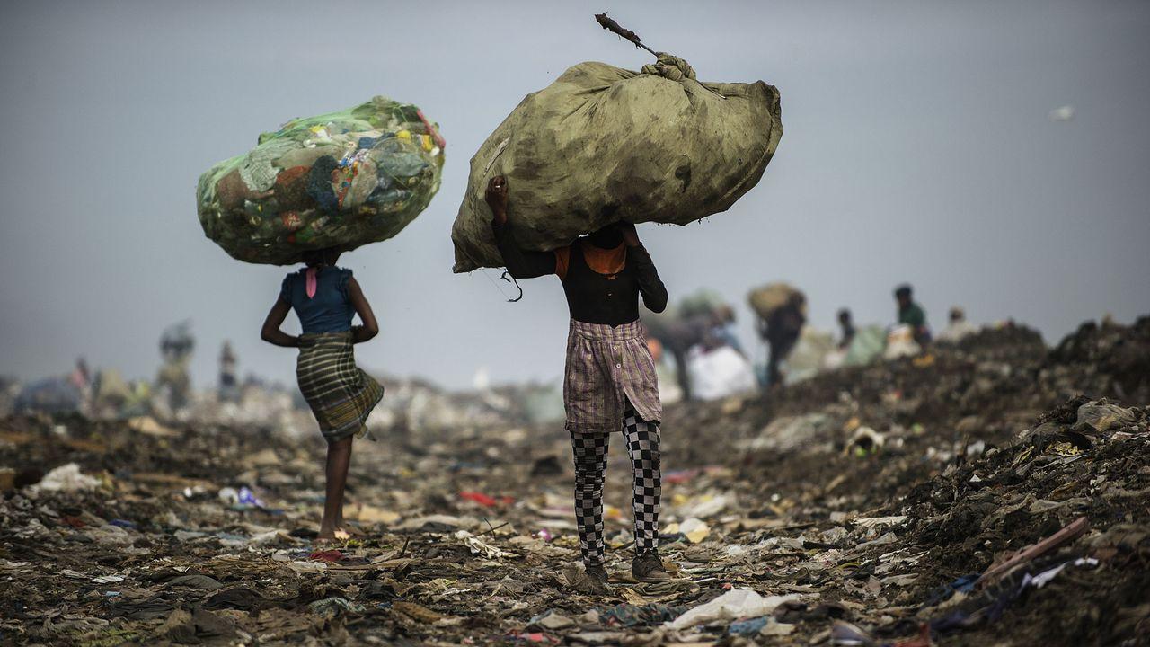 La pauvreté est en baisse constante dans le monde, sauf en Afrique subsaharienne. [Gianluigi Guercia - AFP]