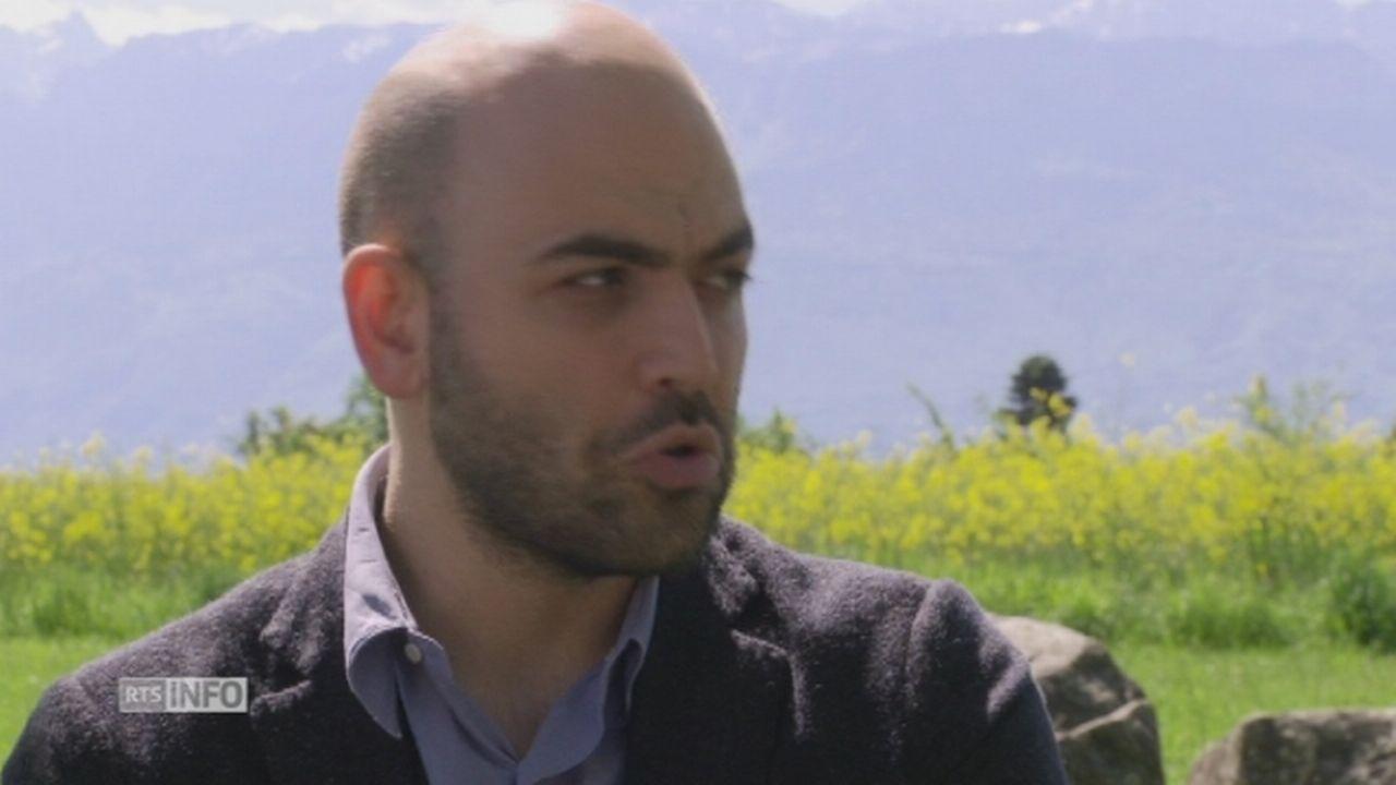 saviano et la suisse [RTS]