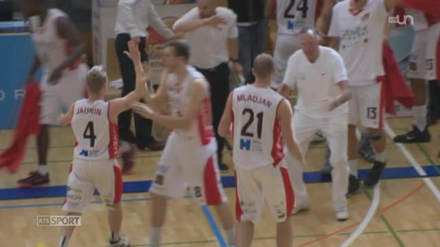 Basketball- finale LNA: les Lions de Genève remportent la 1ère manche contre Union Neuchâtel (74-66) [RTS]