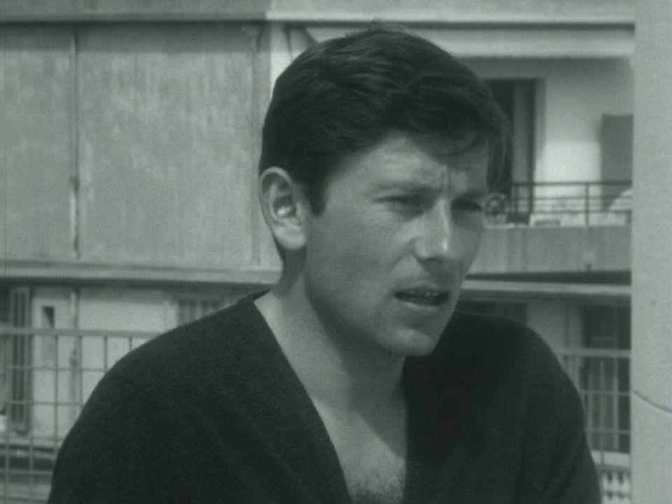 Roman Polanski au festival de Cannes 1963. [RTS]