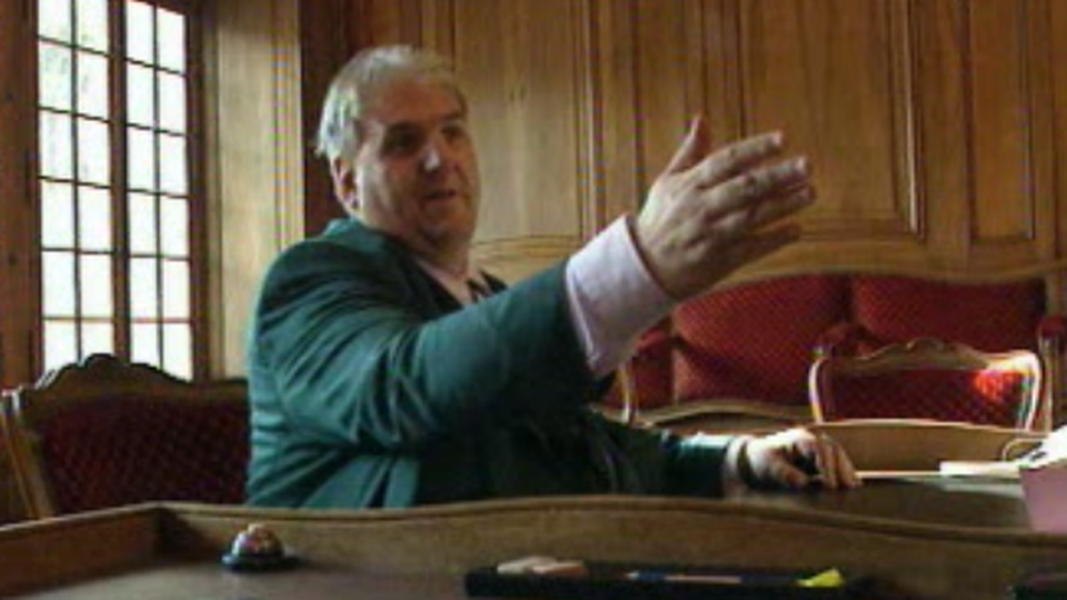 Daniel Brélaz, syndic de Lausanne [RTS]