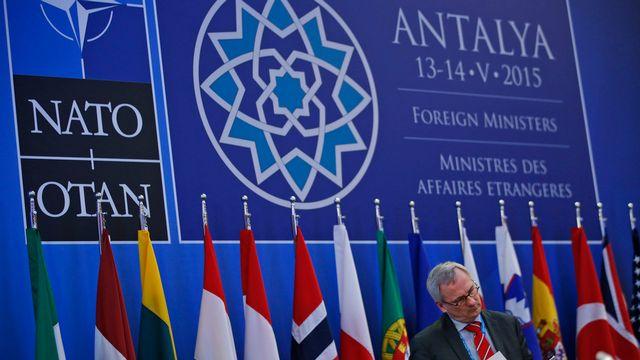Les ministres des Affaires étrangères des pays membres de l'Otan étaient réunis à Antalya en Turquie. [Lefteris Pitarakis - Keystone]