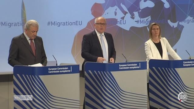 La Commission européenne veut mettre en place des quotas de réfugiés [RTS]