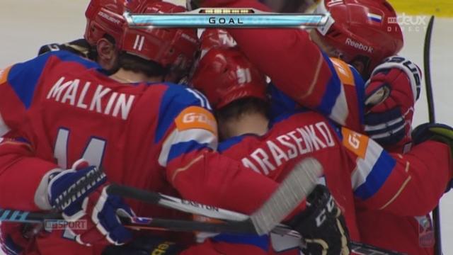 1-4, Suède - Russie (0-1): Ouverture du score pour la Russie [RTS]