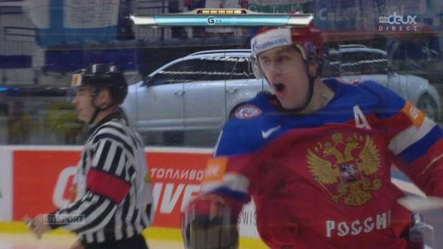 1-4, Suède - Russie (0-3): triplé pour la Russie avec un but de Malkin [RTS]