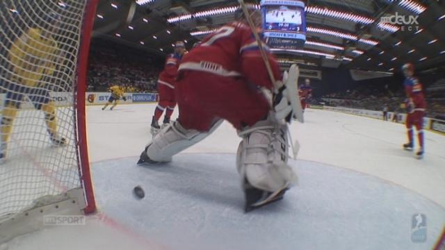 1-4, Suède - Russie (1-3): Klingberg parvient enfin à scorer pour la Suède [RTS]