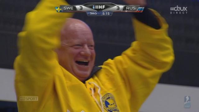 1-4, Suède - Russie (3-3):Eriksson égalise enfin à 5 min de la fin du match [RTS]